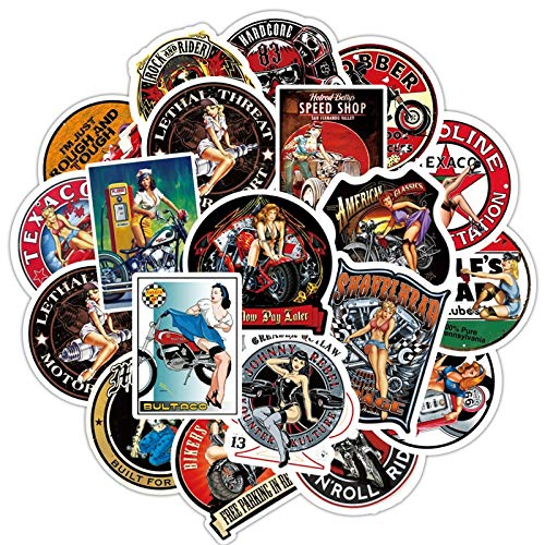 DSSJ Moto Vintage Stickers Lot Adhesivo Stickers For Luggage On Laptop Skateboard Bicycle Motorcycle Stickers Set 90pcs