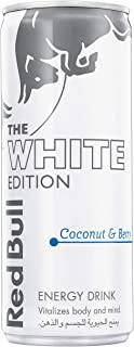 Red Bull Energy Drink, White Edition, Coconut & Berry, 250 ml