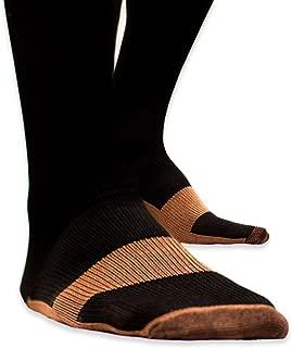Copper Compression Socks Reduce Swelling Socks Antimicrobial Compression Socks - (S/M: Men 6.5-8.5   Women 6.5-8.5)