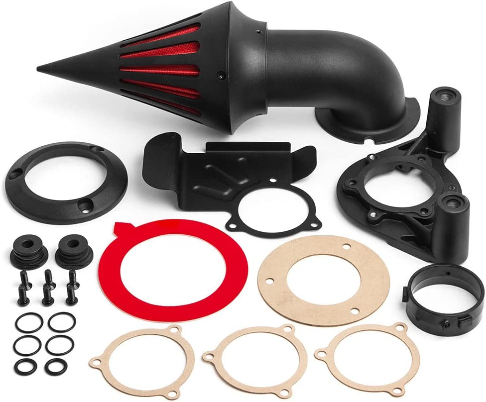 Finally resale start Krator Black Spike Air Cleaner Popularity Filter 200 with Compatible Intake