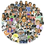 The Office Stickers Pack 100pcs, The Office TV Show Stickers for Laptops, Funny Meme Stickers for Water Bottles, Stickers for Adult