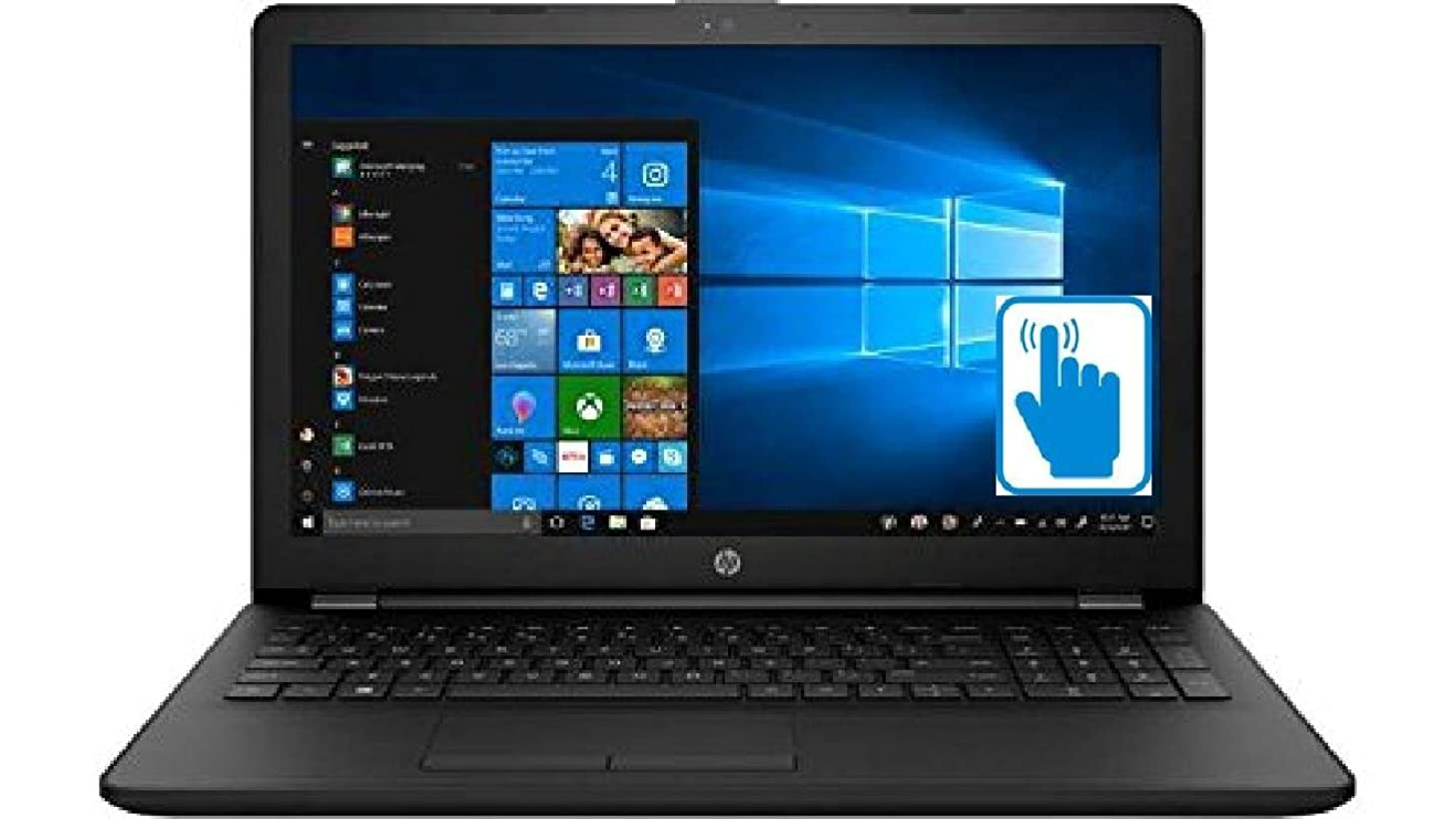 HP High Performance 15.6 inch Touchscreen Laptop (Intel i3-7100U Processor, 16GB RAM, 1TB HDD + 512GB SSD, 15.6