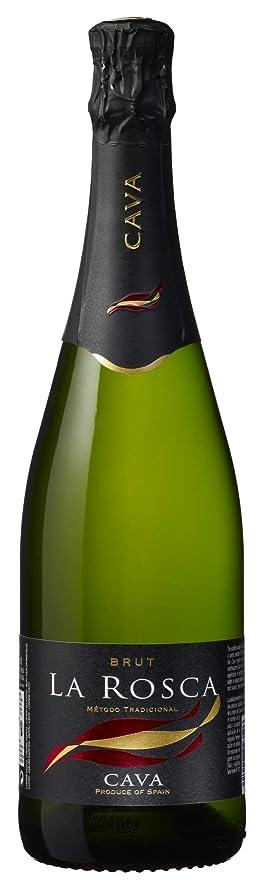 しなやかな時期尚早巻き取り【本格シャンパン製法】ラ ロスカ ブリュット [ スパークリング 辛口 スペイン 750ml ]