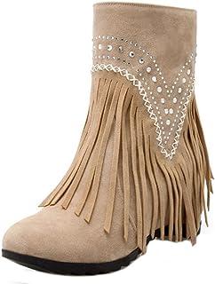 97de0ac6 Amazon.es: botas de flecos - Sandalias de vestir / Zapatos para ...