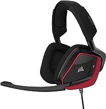 Corsair Void Elite Surround Premium Gaming Headset with 7.1 Surround Sound, Cherry (Renewed)