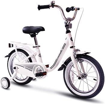 COEWSKE Bicicleta para niños con Marco de Acero para niños ...