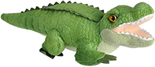 Wild Republic 23322 Alligator Plush, Wild Calls Soft Toys with Original Sound, Kids Gifts, 20 cm, Multi