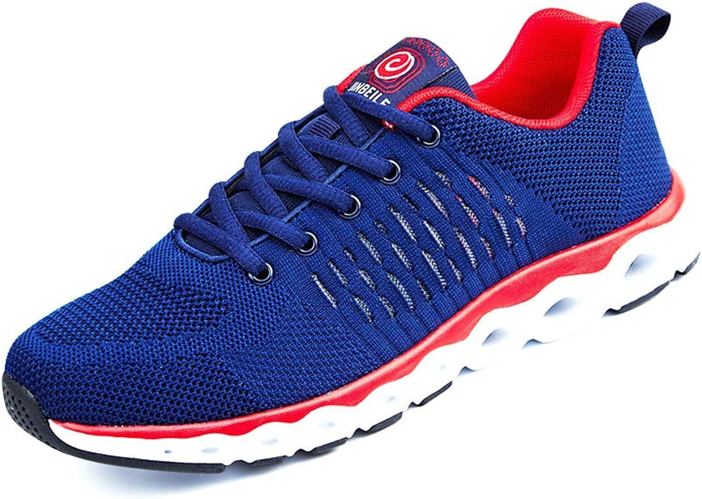 34f157fd3cc9 Men's Men's Men's Running shoes, Lightweight Non-Slip Gym Athletic ...