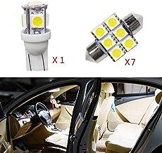 Cobear para CX-5 Super Brillante Fuente de luz LED Interior Lámpara de Coche Bombillas de Repuesto Blanco Paquete de 8