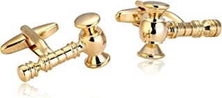 Aooaz 6 Style Classic Stainless Steel Cufflinks for Men 1 Pair Tuxedo Dad Unique Gift Box Fancy Charm Mh29