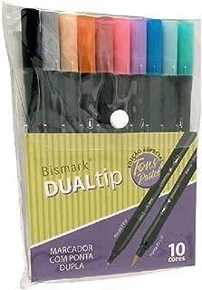 Marcadores com Ponta Dupla Bismark Dualtip Tom Pastel
