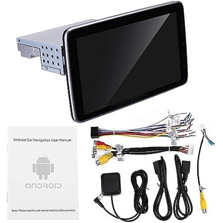 Autoradio 9 Zoll 1din For Android 8 1 Auto Stereo 360 Grad Drehung Multimedia Player 8 Core 1 16g 2 5d Screen Gps Wifi Fm Am Radio Farbe Schwarz Größe Einheitsgröße Küche Haushalt