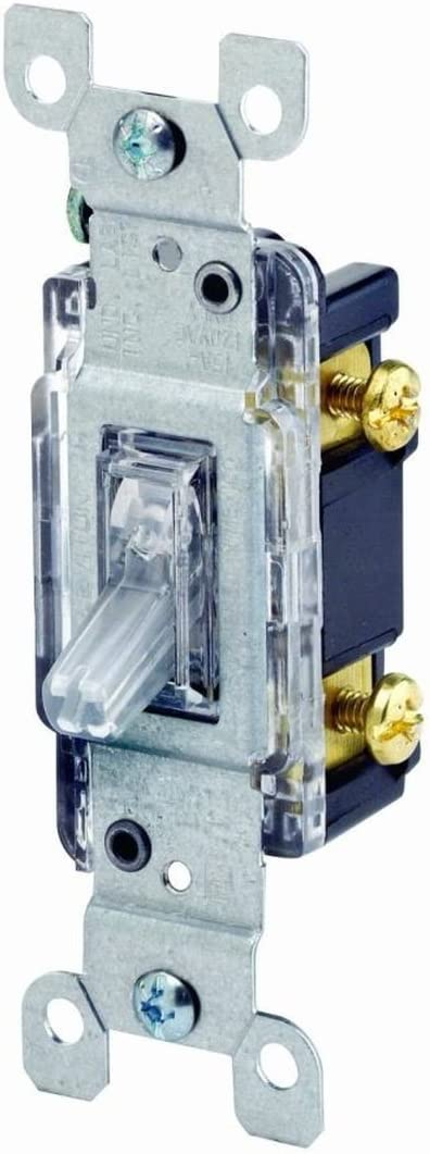 Leviton 1461-LHC 3 Pack 15Amp 120V AC Toggle Max 43% OFF Lighted Quie Houston Mall Handle
