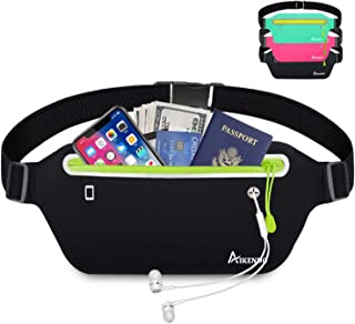 AIKENDO Slim Running Belt Fanny Pack,Fitness Workout...