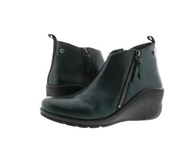 Wolky Sensation Anvik (Dark Green Savana Leather) Women