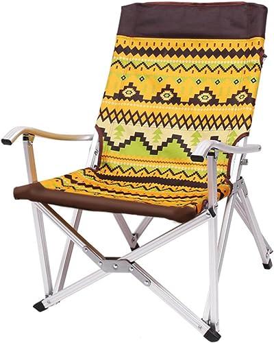 HMWPB Plein Air Chaises De Camping Pliantes Portable Folding Chaise De Plage Stabilité Alliage D'aluminium Avec Sac De Transport Pour Jardin Camping Pêche Randonnée Picnic