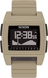 NIXON Base Tide Pro A1212 - Sand PU/Rubber/Silicone Digital Watch