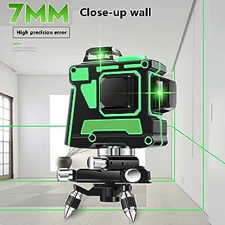 Nivel láser 3D Green Beam: 12 líneas horizontales y
