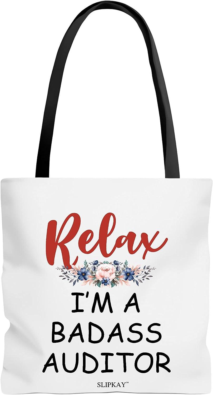 Relax Im A Badass Auditor Bag shipfree Ranking TOP12 Toe