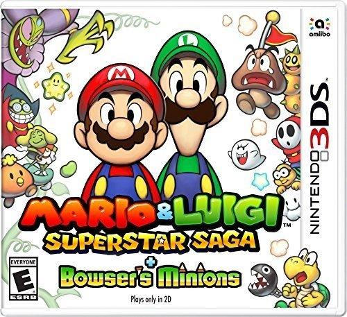 Mario & Luigi Superstar Saga Bowser's Minions - Nintendo 3DS