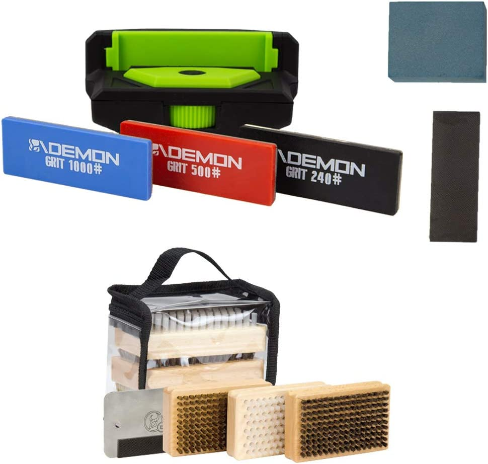 Demon Sale United Elite Rare X Ski and Combo Edge Snowboard Package