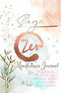 Sage Mindfulness Journal: Personalized Name Pocket Size Daily Workbook Gifts for Teens, Girls and Women. Simple Practices ...