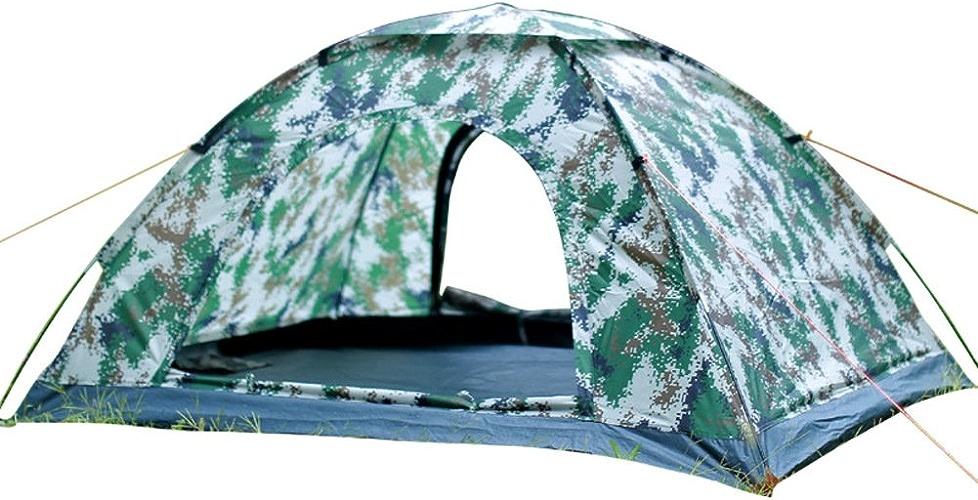 2 Personnes Tente, Tente Camping Tente Légère Pour Le Camping Tente Exterieure Camouflage Manuel Tente 2 Personne Camping Avec Sac Camping Gear-fibre De Verre
