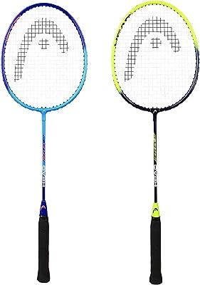 HEAD Reflex 10 Aluminium Badminton Racquet, G4 Pack of 2 pcs