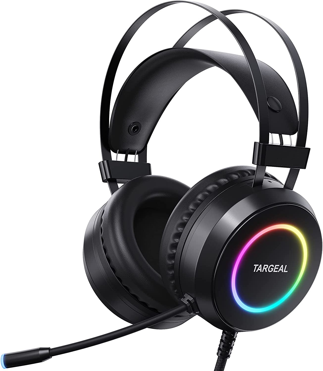 Targeal Max 72% OFF 4 Mode 7.1 Surround Sound PC Headset for PS4 Gaming Latest item La 5