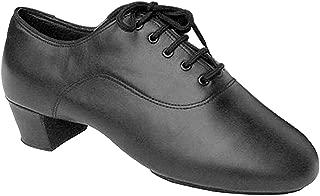 Men's Ballroom Dance Shoes Tango Wedding Salsa Latin Dance Shoes S417EB - Very Fine 1.5