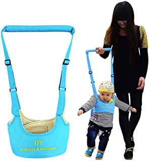 Reizbaby Handheld Baby Walk Harness Adjustable Baby Walker Assistant Safety Learning to Walk Helper for Toddlers