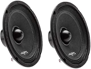 "(2) Skar Audio NPX65-4 6.5"" 300 Watt 4-Ohm Neodymium Pro Audio Mid-Range Loudspeaker - 2 Speakers photo"