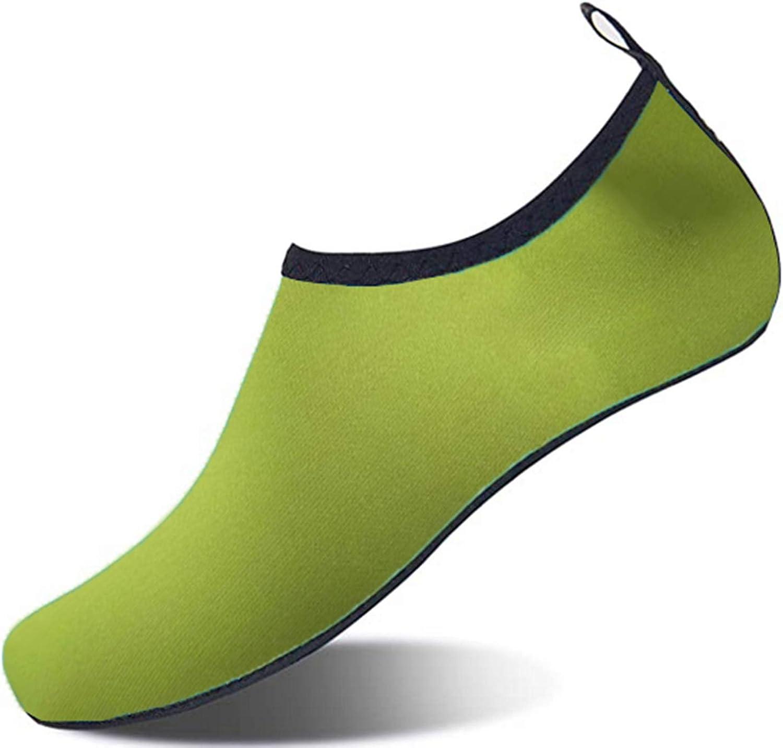 ACOCO Water Shoes Barefoot Quick-Dry Aqua Yoga Socks Slip-on for Men Women Sports Beach Swim Surf Pool Walking Exercise