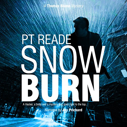 Snow Burn audiobook cover art