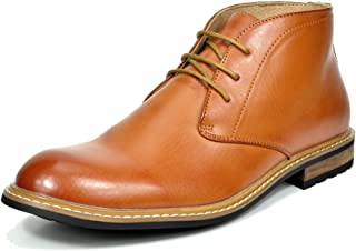 Men's Leather Lined Oxfords Dress Ankle Boots