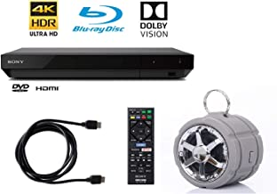 $209 » 4K Ultra HD Blu Ray Player with 4K HDR and Dolby Vision + 6FT HDMI Cable + Tmvel Bluetooth Speaker