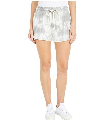 Alternative Cozy Lightweight French Terry Shorts (Grey Tie-Dye) Women