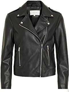 Vila Vicara Faux Leather Jacket-Noos Chaqueta para Mujer