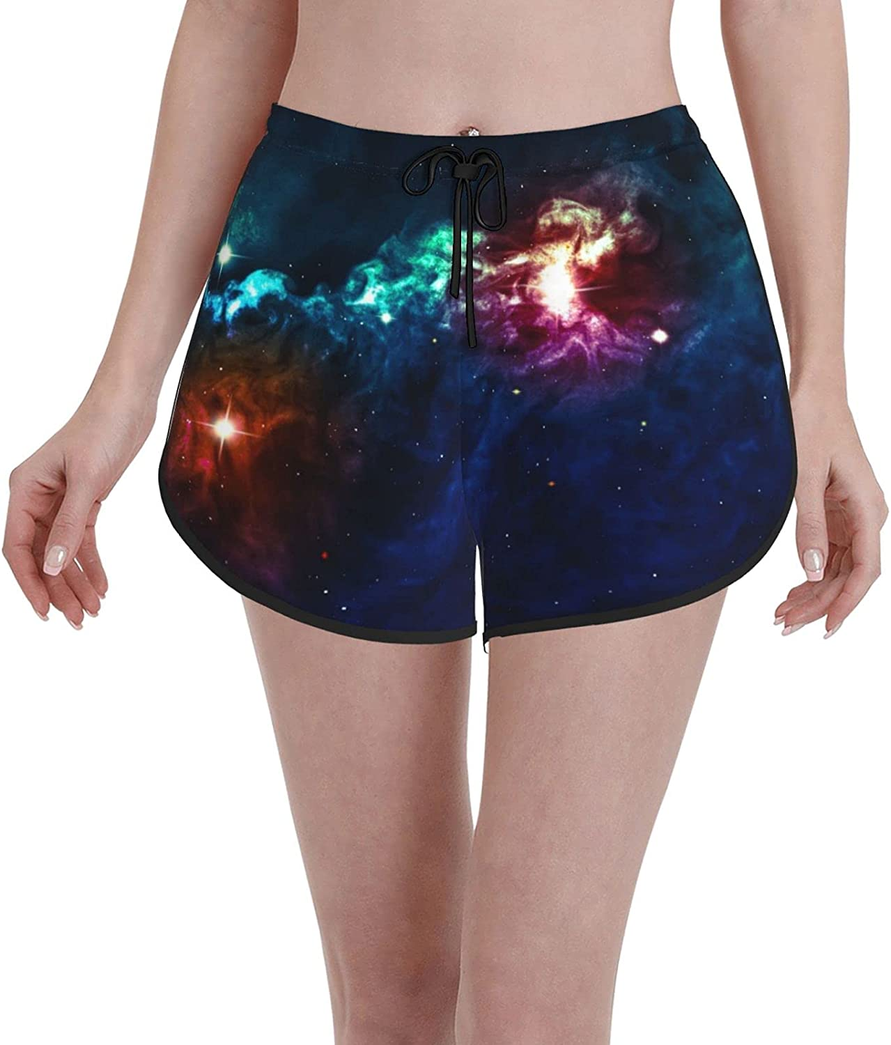 Women's Girl's Swim Trunks 40% OFF Cheap Sale Galactic On Colo Milky Max 52% OFF Way Image