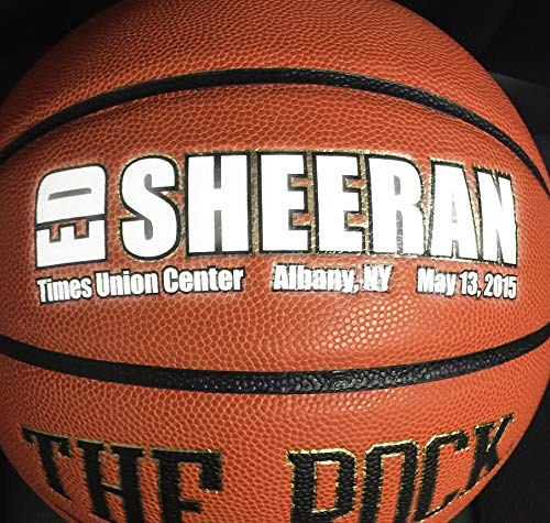 The Rock - Official Womens Basketball Size 28.5. Core To Cover Technology. Deep Pebble Channel. Comes With a Certificate of Authenticity. Official Womens Size 28.5 Basketball. NFHS