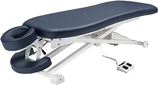 "Master Massage 29"" TheraMaster Flat Powerlift Electric Table Royal Blue"
