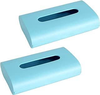 オカ fill+fit 3WAY ティッシュケース 2個セット(ブルー)