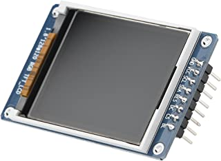 1.8inch LCD Display Module, TFT Screen Module 128 x 160 Resolution Onboard Driver ST7735 SPI Interface, Full-Color LCD Scr...