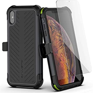 Ballistic Tough Jacket Maxx Series Holster Case for iPhone Xs Max 6.5 Black