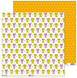 Anita y Su Mundo Colección Mascotas Papeles de Scrapbooking, Paper, Perros, 30.5 x 30.5 cm
