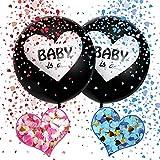 JIASHA Ballon Fille ou Garcon, Gender Reveal Ballon, Gender Reveal Party Decoration, Fille ou Garcon Baby Shower, Fille ou Garcon Decoration, Décorations pour la Douche de bébé