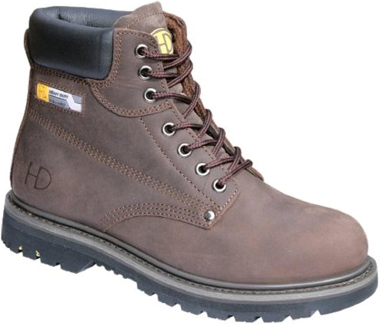 Heavy Duty Men's 33P Steel Toe Boots
