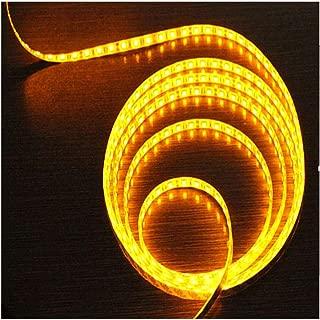 Inicio Tira De Luz Led Impermeable Iluminación Flexibles Navidad Fiesta Decoración Doméstico Halloween Fiestas Bodas Habitación Bar (Color : 12V 3528 Drops of Yellow, Size : 100m)