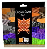 Avenue Mandarine Origami Paper, 20 x 20 cm, 70 g, 60 Sheets, Double Sided - Halloween