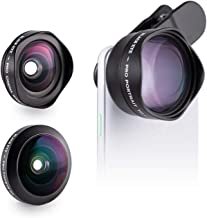 Phone Lens Kit by Black Eye || Pro Kit G4 Lens Compatible with iPhone, iPad, Samsung Galaxy, and All Camera Phone Models